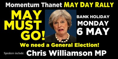 Thanet Momentum May Day Rally