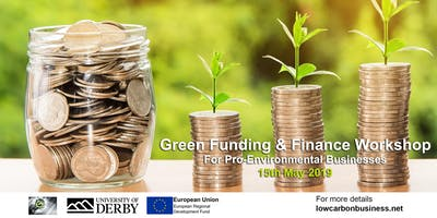 Green Funding and Finance Workshop for pro-environmental businesses