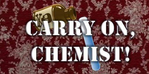 Toby Carvery, Moby Dick - Murder Mystery - Carry On, Chemist