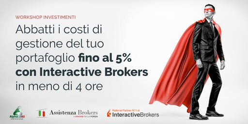 Workshop | Investimenti: Risparmia il 5% annuo garantito sul tuo capitale!