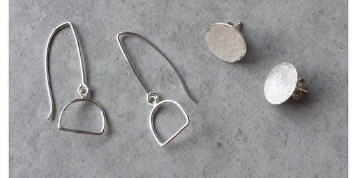 Jewellery Making Workshop: Silver Earring Making