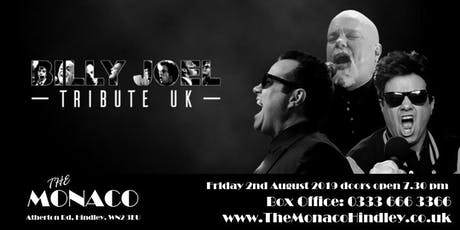 Billy Joel Tribute UK LIVE at The Monaco tickets