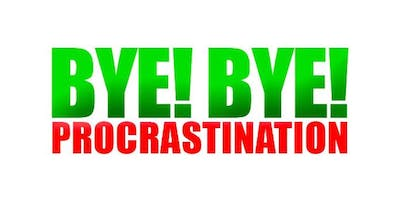 Bye Bye To Procrastination - With Sukhi Wahiwala TED Speaker