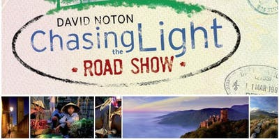 Norwich & District Photographic Society are pleased to invite you to join us when David Noton's inspirational Chasing the Light Road Show arrives in Norwich
