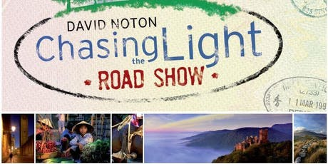 Norwich & District Photographic Society are pleased to invite you to join us when David Noton's inspirational Chasing the Light Road Show arrives in Norwich tickets