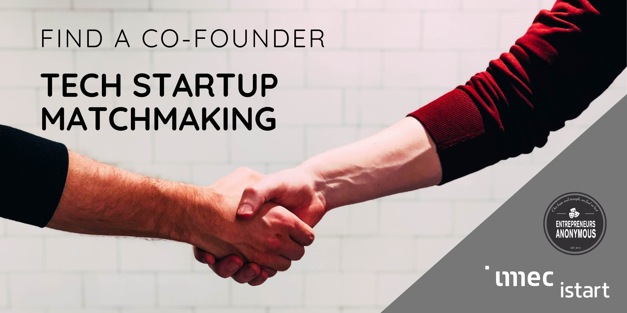 Find A Co-Founder - Tech Startup Matchmaking