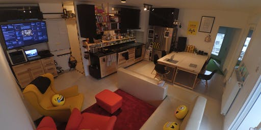 Visite d'un coliving HACKERHOUSE