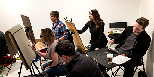 Figure Drawing at Channel To Channel (Drink-n-Draw)