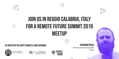 Reggio Calabria Meetup at Evermind [COMING SOON]