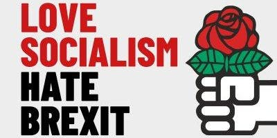 Love Socialism Hate Brexit - Norwich