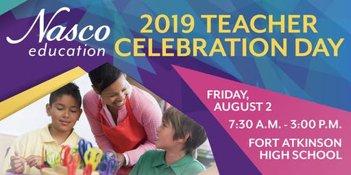 Free! Nasco Teacher Celebration Day 2019