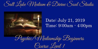 PSYCHIC/MEDIUMSHIP BEGINNERS COURSE LEVEL 1 WITH JO'ANNE SMITH & DAINA MARSHALL