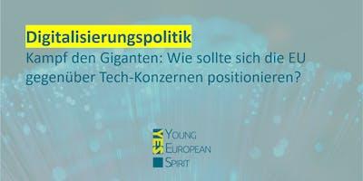 Digitalisierung - Kampf der Giganten: EU vs. Tech-Konzerne