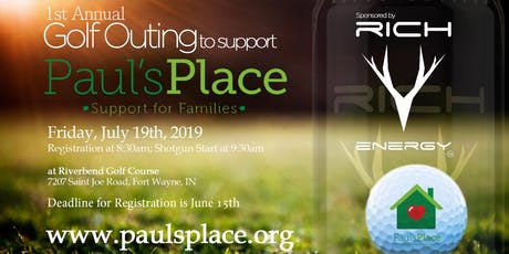 Paul's Place 1st Annual Golf Outing tickets