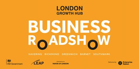 London Growth Hub Business Roadshow: Greenwich tickets