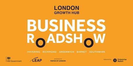 London Growth Hub Business Roadshow: Greenwich tickets