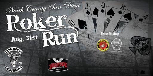 6th Annual North County Iron Order MC Poker Run Benefitting Sons of Charity