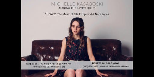 Michelle Kasaboski: Making The Artist Series SHOW #2