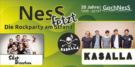 Ness fetzt - Die Rockparty am Strand tickets