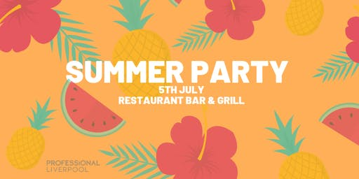 Professional Liverpool Summer Party