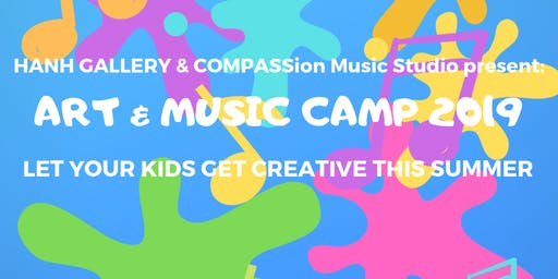 Art + Music Camp! - Let your kids gets creative!