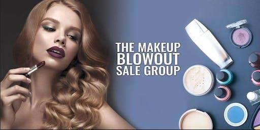A Makeup Blowout Sale Event - Houston!