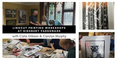 Linocut Printing Workshops with Carolyn Murphy & Cate Gibson