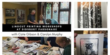 Linocut Printing Workshops with Carolyn Murphy & Cate Gibson tickets