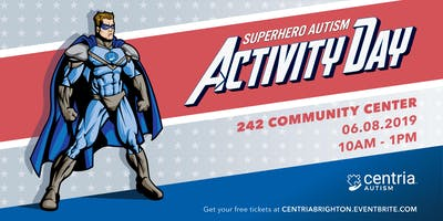 Superhero Autism Activity Day - Brighton, MI - Presented by Centria Autism