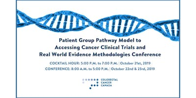 Patient Group Pathway Model to Accessing Cancer Clinical Trials and Real World Evidence Methodologies Conference
