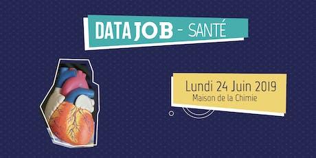 DataJob Santé 2019 billets