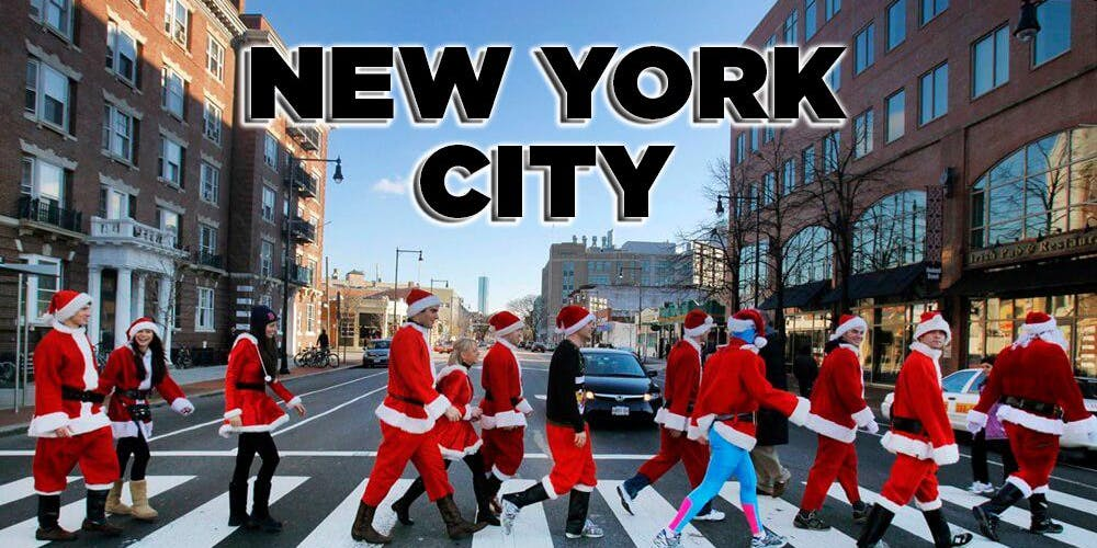 Christmas Ny 2019.New York City Santa Crawl 2019 Tickets Sat Dec 14 2019 At