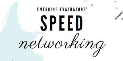 Speed Networking for Emerging Evaluators - Réseautage de vitesse pour évaluateurs émergents