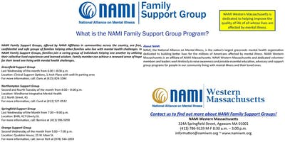NAMI Western Massachusetts Family Support Group