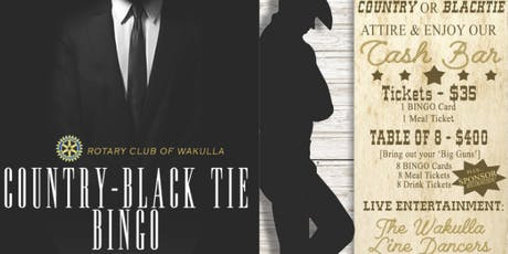 Country-Black Tie BINGO! tickets
