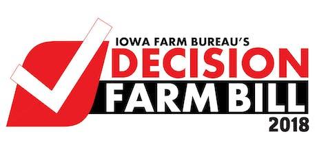 Mason City --2018 Farm Bill Education Meeting tickets