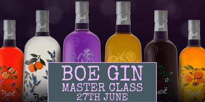 Boe Gin Master Class