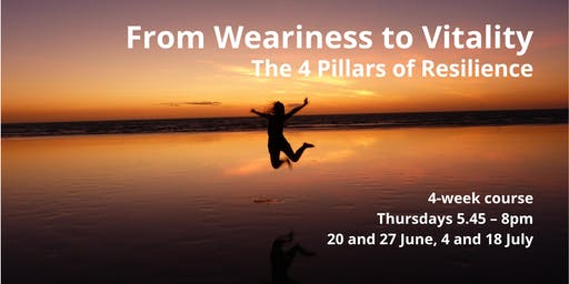 From Weariness to Vitality - The 4 Pillars of Resilience