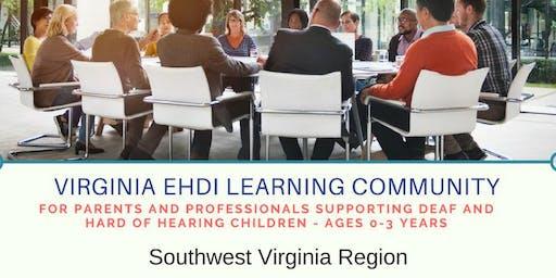 Southwest Virginia EHDI Learning Community - June Meeting