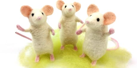 Needle Felt Pose-able Party Mouse tickets
