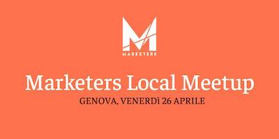 Marketers Meetup Genova | 26.04.19