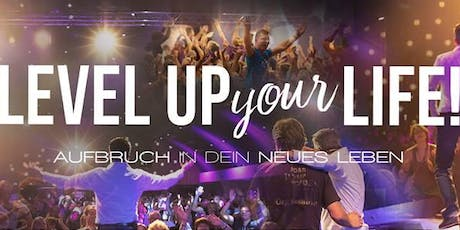 LEVEL UP YOUR LIFE - Aufbruch in Dein neues Leben (05.-06.10.2019) Tickets