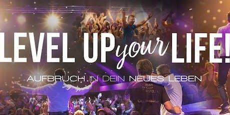 LEVEL UP YOUR LIFE - Aufbruch in Dein neues Leben (05.-06.10.2019) tickets