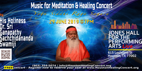 Music for Meditation and Healing Concert tickets