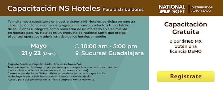 Imagen de Guadalajara - Capacitación NS Hoteles para Distribuidores