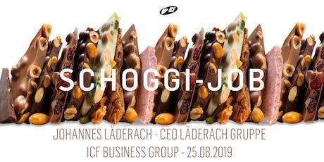 Begeistern statt befehlen - Johannes Läderach - 25.08.2019 Tickets