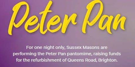 Peter Pan Pantomime 2019 tickets