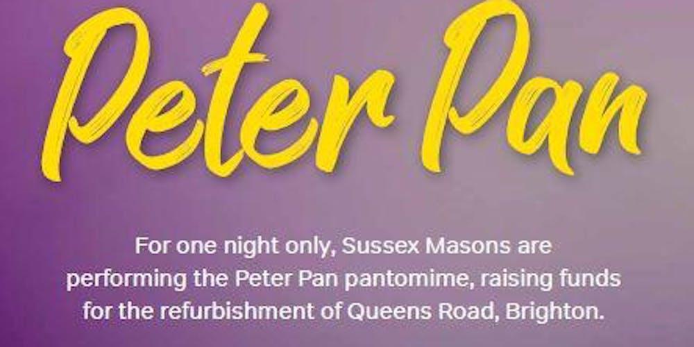Peter Pan Pantomime 2019 Tickets, Sun 29 Dec 2019 at 19:00