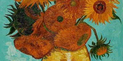 Paint Van Gogh! Afternoon, Canary Wharf, Sunday 16 June