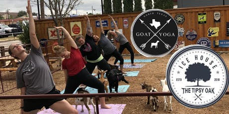 NTX Goat Yoga at The Tipsy Oak tickets